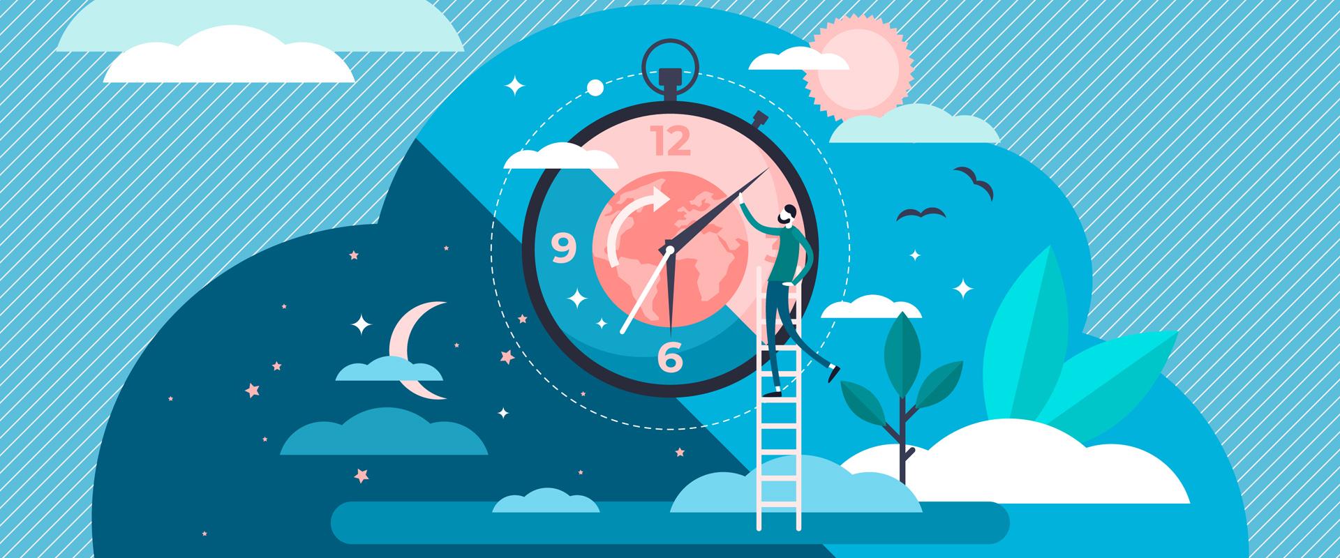 el ciclo de sueño en cuarentena